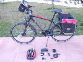 Men Hybrid/Trekking Bike