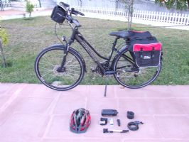 Women Hybrid/Trekking Bike