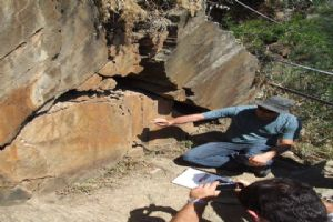 Explenations at Archeologic Site